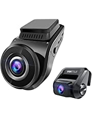 4K Dual Dash Cam w/GPS, Vantrue S1 1080P Front and Rear Camera with Built in GPS, Accident Car Dash Camera with Sony Night Vision, Single Front 4K 2160P, 24 Hours Parking Mode, Super Capacitor, 2 inch, Support 256GB Max,Truck, SUV, Pickup, BMW, Honda, Toyota