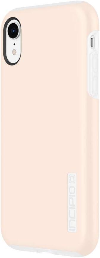 "Incipio DualPro Case iPhone XR (6.1"") Hybrid Shock-Absorbing Drop Protection - Rose Blush"