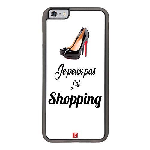 THEKLIPS/® Je Peux Pas JAi Shopping Coque iPhone 6 Plus//iPhone 6s Plus