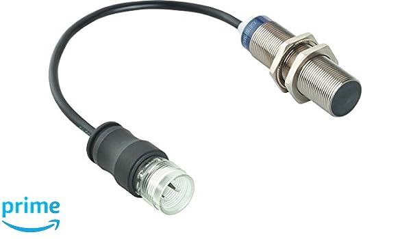 Telemecanique psn - det 30 04 - Detector inductivo cilíndrico diámetro 18mm pnp contacto abierto cable 1m: Amazon.es: Bricolaje y herramientas