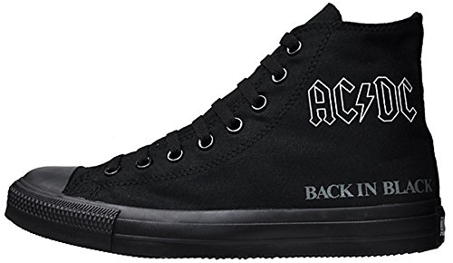 Converse All Stars Chuck Taylor Color: Black LEAD 111070 AC/DC Back in Black Gr: EU: 36,5 UK: 4 Limited Edition