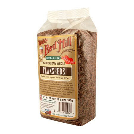 Bobs Red Mill Flaxseed Brown Org Gf