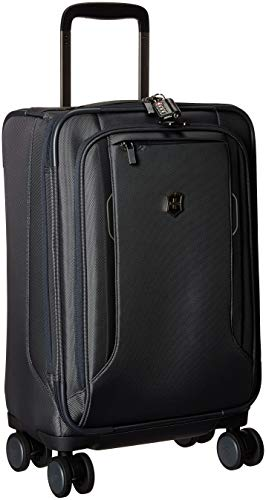 Victorinox Werks Traveler 6.0 Frequent Flyer Softside Carry-On Spinner Suitcase, 21-Inch, Grey ()