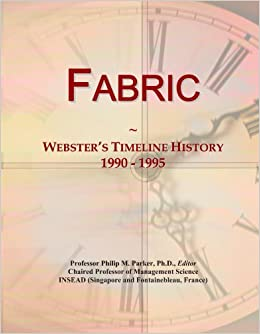 Book Fabric: Webster's Timeline History, 1990 - 1995
