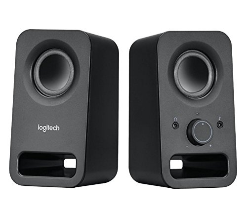 (Logitech Multimedia Speakers Z150 with Stereo Sound for Multiple Devices, Black)