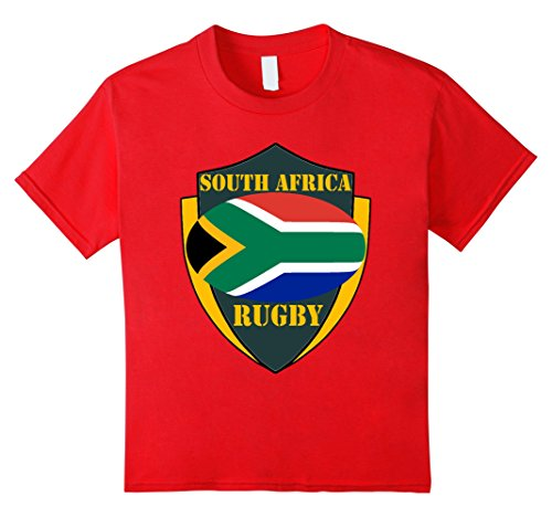 South Africa Rugby Fan Shirt Green Shield - Kids 8 - - Shape South Africa Of