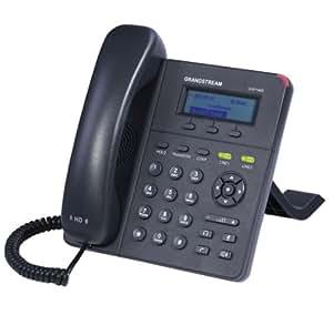 Grandstream GXP-1405 - Teléfono fijo digital (pantalla LCD, RJ-45, 3 W), negro