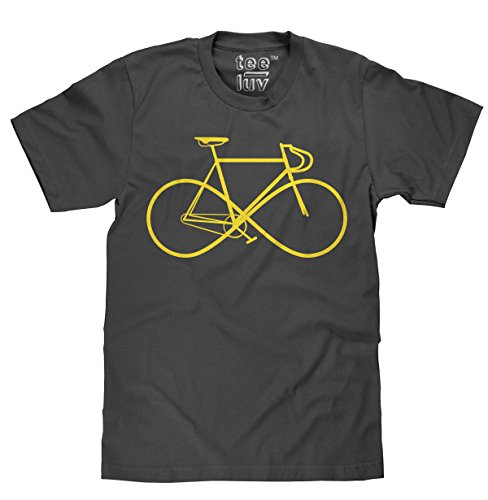 Infinity Sign Bike T-Shirt |Classic Look|100% Cotton-Small Bike Cotton Shirt
