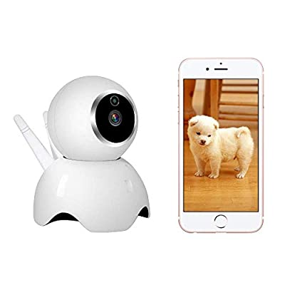 VStoy Dog Camera by 1080P Pet Monitor Indoor Cat Camera Night Vision 2 Way Audio and Motion Detection Pet Camera