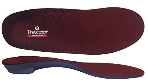 Powerstep Pinnacle Maxx Full Length Orthotic Shoe Insoles