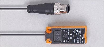 IFM Efector KQ6005 Capacitive Sensor, 12 mm Sensing Range