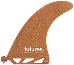 6 Performance RWC Recycled Sawdust Eco Longboard Fin Fin Future Fins