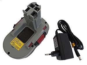 vhbw Li-Ion batería 1500mAh para herramienta eléctrica Bosch 3453-01, 35618, 3860CK, 3860CRK, 3860K, 3860RK, 3870, 3870-04 por BAT025, BAT180, etc..