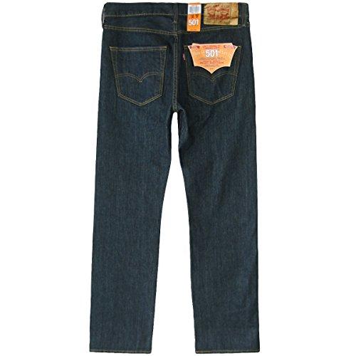 Levi Fit 1155 's Straight nbsp;Original 501 Hombre Fume Clean x 31W Blue Jeans 30L rwrxv1YCq