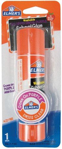 - Elmer's Jumbo Disappearing Purple School Glue Stick, 1.4 Ounces
