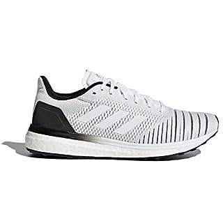 adidas Women's Solar Drive Running Shoes Raw Grey/Raw Grey/Clear Mint Red 9 B(M) US