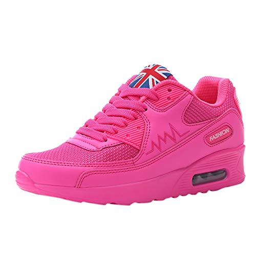 OrchidAmor Fashion Women's Mesh Breathable Sneakers Casual Shoes Student Running Shoes 2019 Summer Soft Comfy Shoes Pink