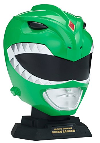 Power Rangers Legacy Mighty Morphin Green Ranger Helmet Display Set ()