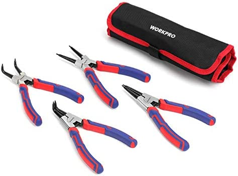 WORKPRO 4 Piece Snap Ring Pliers product image