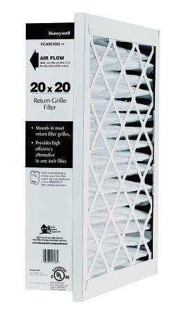 Honeywell FC40R1003 Return Grill Media Air Filter, 20'' x 20''  (Pack of 5)
