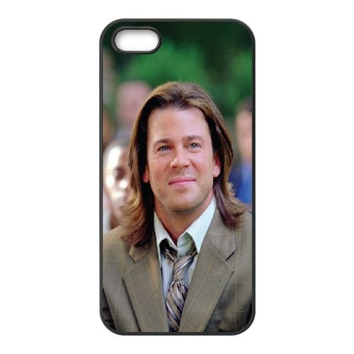 Christian Kane Long Haired Brunette Smile Celebrity coque iPhone 4 4S cellulaire cas coque de téléphone cas téléphone cellulaire noir couvercle EEEXLKNBC24220