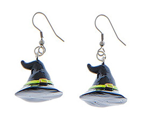 Eeery-Sistable Earrings: Witch Hats - By Ganz ()