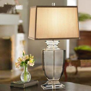 Stylish Minimalist Luxury Crystal Table Lamp Bedroom Bedside Lamp Living  Room Lamp Lighting Part 62