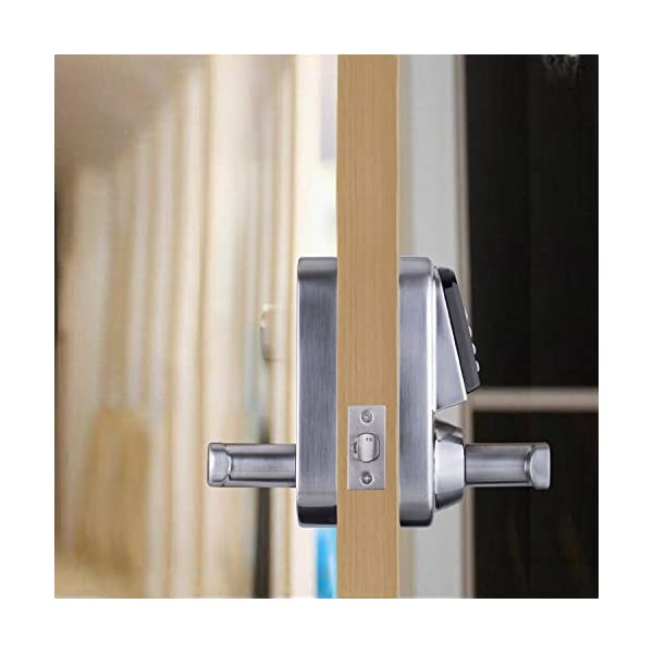 Ardwolf-A30-Keyless-Smart-Door-Lock-Keypad-with-Reversible-Lever-and-Automatic-Locking