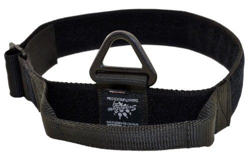 Signature K9 Adjustable Nylon Handle Collar, 1-3/4 x 14-22-Inch, Black (Signature Dog Collar)