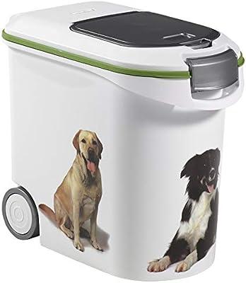 Curver Contenedor Alimentos 12 Kg con ruedas Perros: Amazon.es: Productos para mascotas