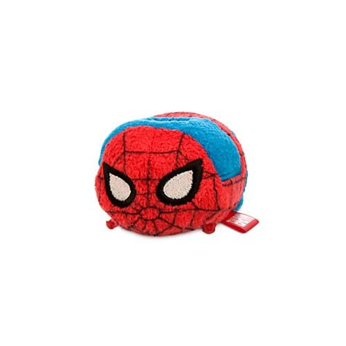 New Disney Store Mini 3.5 (S) Tsum Tsum Spider-Man Plush Doll (Marvel Collection) by Disney