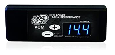 XS Power XSP320 VCM Digital Dash Mount Controller with Blue Display
