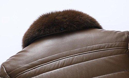 Cappotto Del uk Pelliccia Down Zip Mens In 1 Caldo Colletto up Rivestimento Oggi Sintetica FqyvwUfdfP