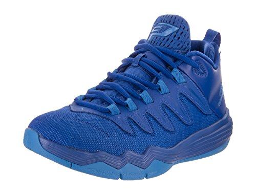 Jordan Nike Kids CP3.IX Game Royal/Pht Blue Infrrd 23 Basketball Shoe 4 Kids US