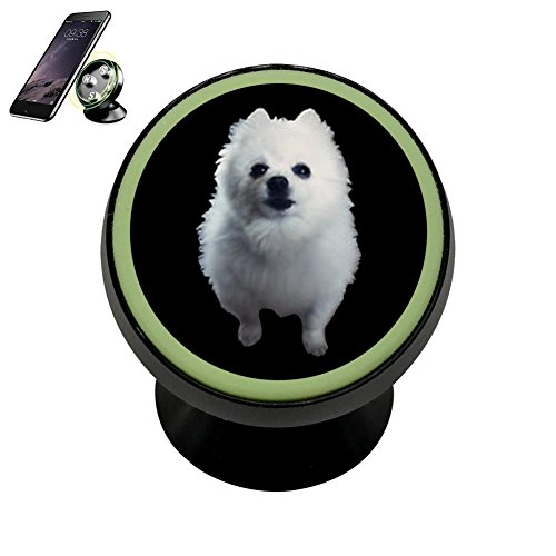 PG-Gai Gabe Dog Universal Magnetic Car Mount - Ultra-Compact 360 Rotation Phone Holder Dashboard Mount