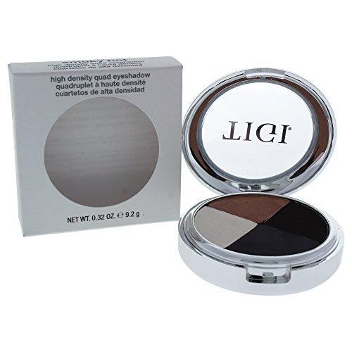 TIGI Cosmetics High Density Quad Eyeshadow, Smoky Hot, 0.32 Ounce