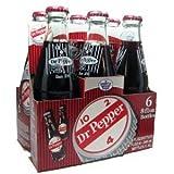 Dublin Dr Pepper Two 6 Packs - 12 glass Bottles