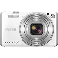 Nikon COOLPIX S7000 Digital Camera (White) - International Version (No Warranty)