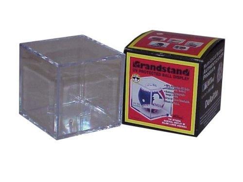 BallQube Grandstand Style Baseball Display Case with UV Protection [並行輸入品] B073ZK4MWZ