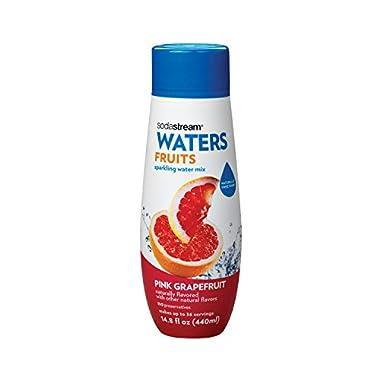 SodaStream Pink Grapefruit Syrup, 14.8 Fluid Ounce