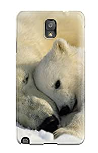 Galaxy High Quality Tpu Case/ Polarbears Juofyfo7937wVlQc Case Cover For Galaxy Note 3