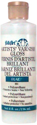 FolkArt Varnish (8-Ounce), K884 Gloss