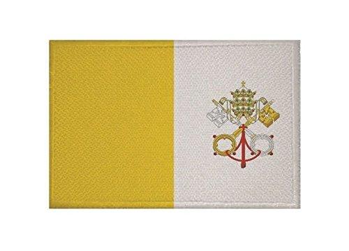 U24 toppa del Vaticano con Stemma Applicazione Patch 9 x 6 cm