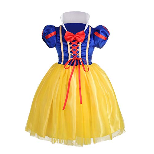 (Dressy Daisy Baby-Girls' Princess Snow White Costume Fancy Dresses Up Halloween Party Size 12-18)