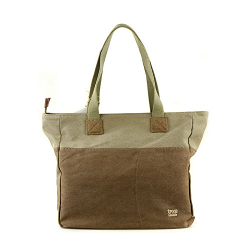 tnew-troop-london-trp-0363-shopper-bag-leather-canvas-fabric-lightly-water-proof