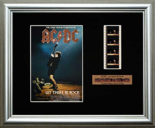 AC/DC - Let There Be Rock - Framed filmcell picture (s)