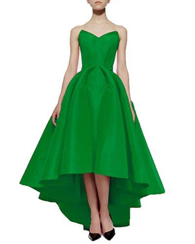 Bridal Pleated Satin Green Aurora Dresses Dovetail Evening Skirt 2016 Lime wBqZO6ZfgW