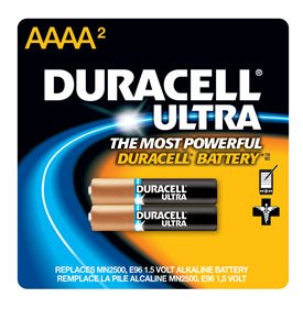 12 each: Ultra Alkaline Battery (MX2500B2PK) by Duracell
