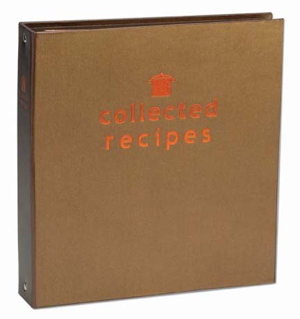 Create Your Own Collected Recipes Cookbook Recipe Organizer