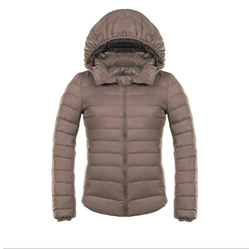 Down Duck Giacca Light Winter Ultra Abbronzatura Hooded Invernale Jacket Donna Fangcheng qEH588